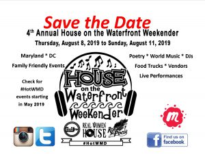 374888ab5 Save the Dates – #HOTWMD (The 4th Annual House on the Waterfront Weekender)  2019
